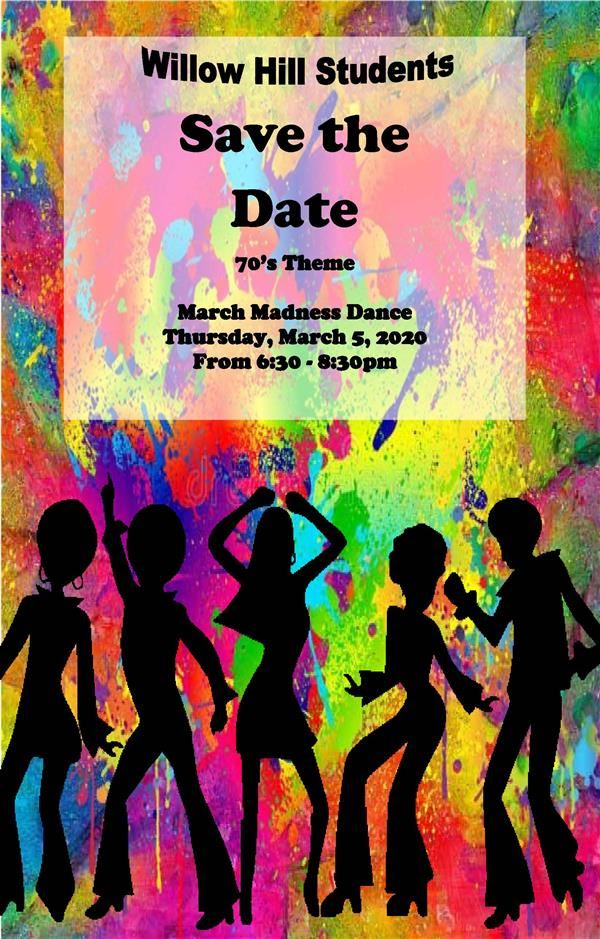 SAVE THE DATE ~ March Dance