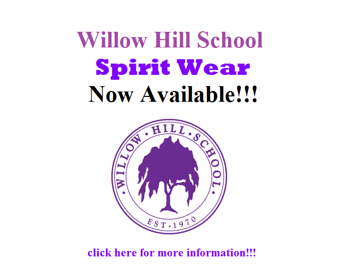 Show your Willow Hill pride! GO BEES!